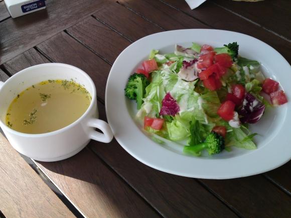 サラダ&スープ@森の小径